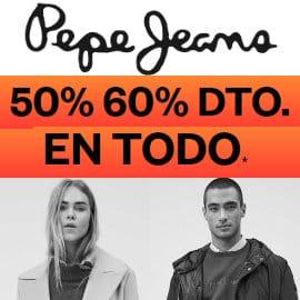 Ofertas Pepe Jeans, ropa de marca barata, ofertas en calzado