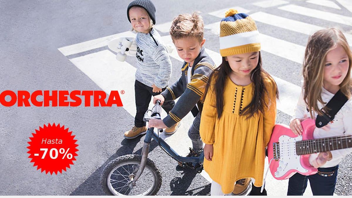 Ofertas en ropa Orchestra para niños, ropa de marca barata para niños, ofertas en ropa, chollo