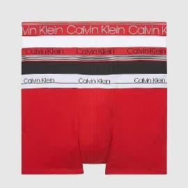 Pack de 3 boxers Calvin Klein baratos, ropa de marca barata, ofertas en ropa interior