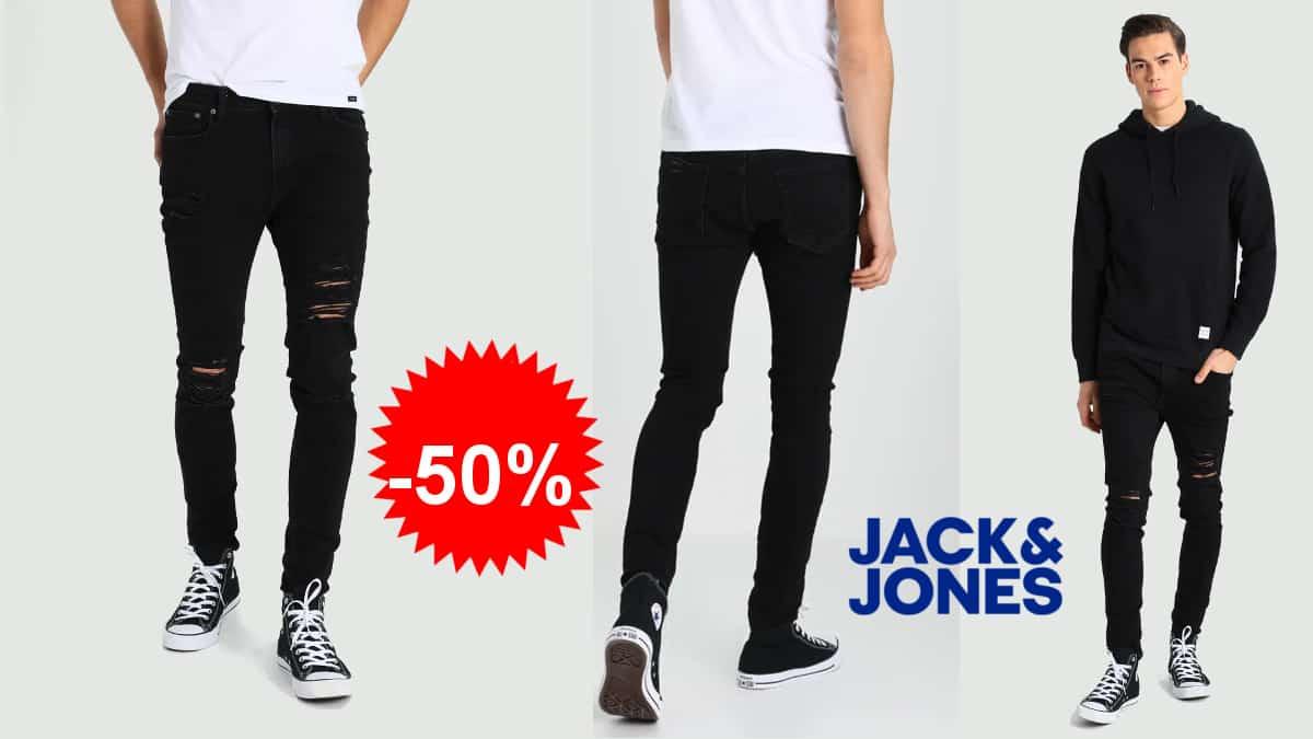 Pantalón vaquero Jack & Jones Jjiliam 502 barato, pantalones de marca baratos, ofertas en ropa, chollo