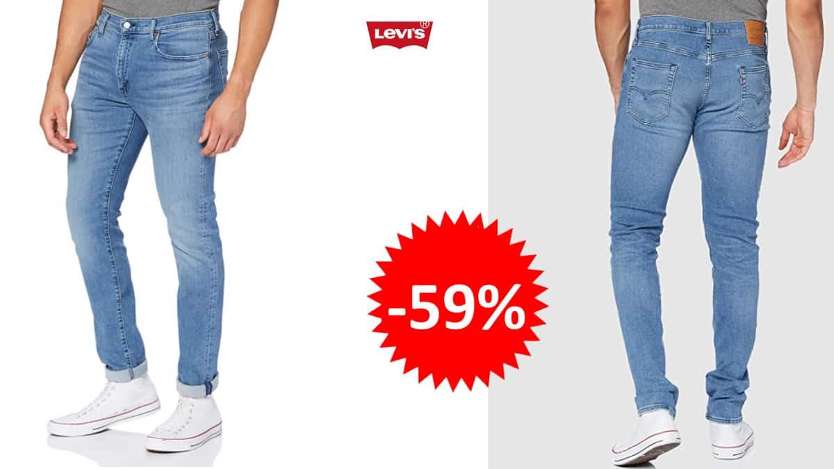 Pantalones vaqueros Levi's 512 Slim Taper baratos, pantalones de marca baratos, ofertas ropa, chollo