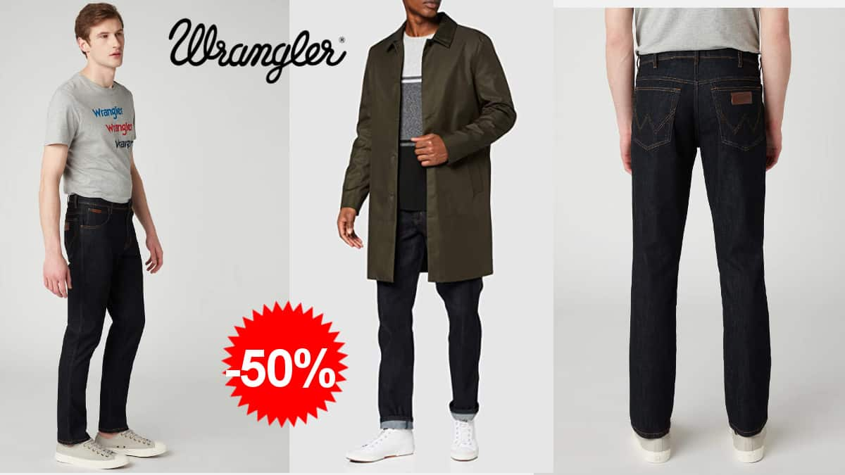 Pantalones vaqueros Wrangler texas baratos, pantalones de marca baratos, ofertas en ropa de marca, chollo