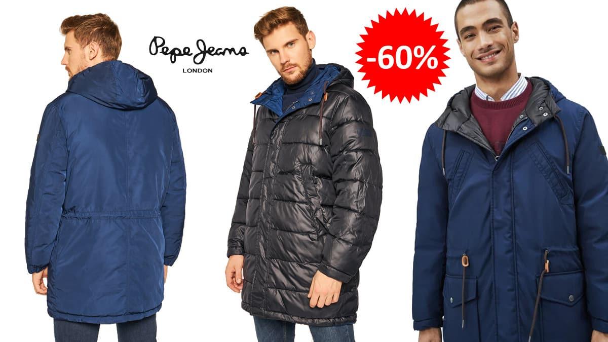 Parka reversible Pepe Jeans Spencer barata, ropa de marca barata, ofertas en abrigos chollo