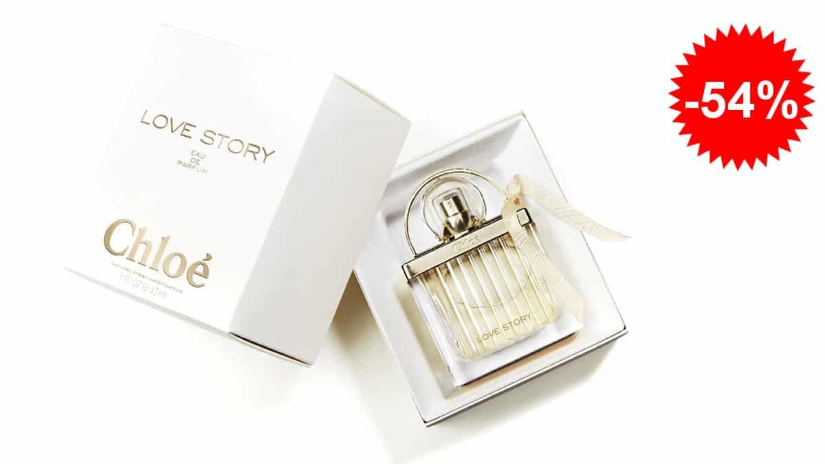 Perfume para mujer Chloé Love Story barato, perfumes de marca baratos, ofertas belleza, chollo