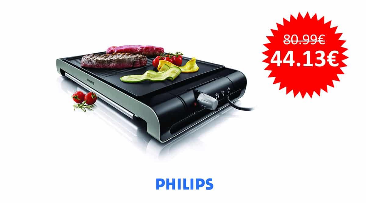¡Precio mínimo histórico! Plancha-parrilla Philips HD4419/20 sólo 44 euros.