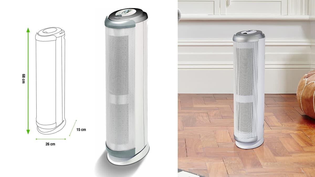 Purificador de aire Bionaire BAP1700 barato, purificadores baratos, ofertas para la casa chollo