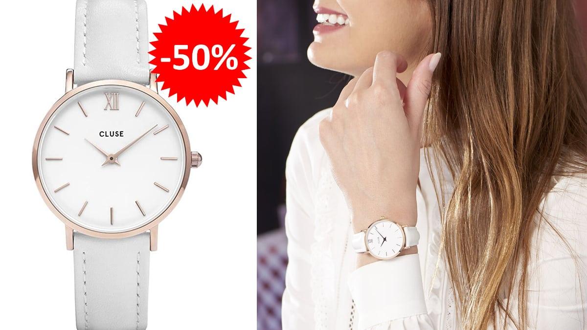 Reloj Cluse La Minuit barato, relojes baratos, ofertas en relojes chollo