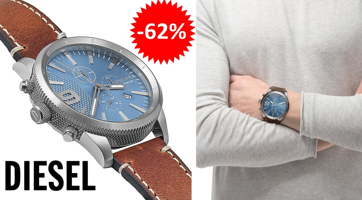 ¡¡Chollo!! Reloj Diesel Rasp Chrono sólo 82 euros. 62% de descuento.