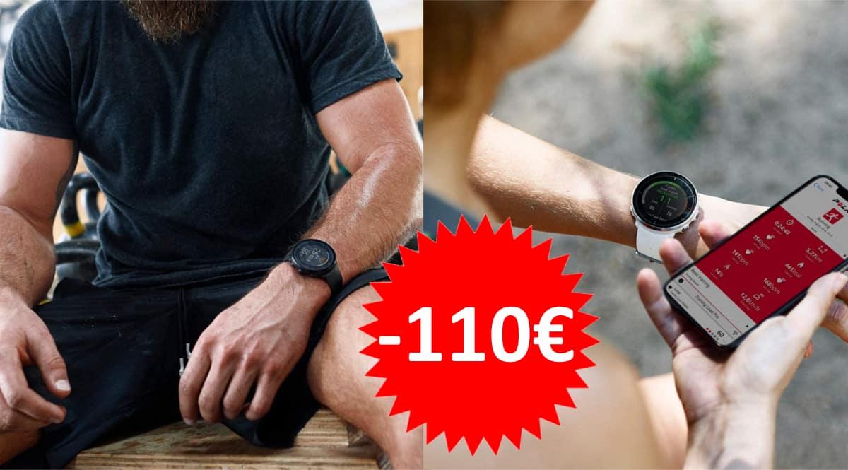 Reloj GPS Polar Vantage M barato. Ofertas en pulsómetros, pulsómetros baratos, chollo