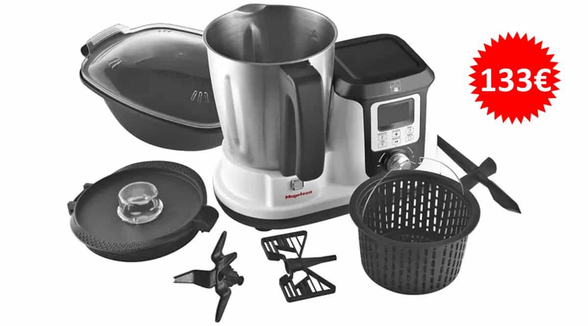Robot de cocina Megafesa Magchef plus MGF4540 barato, robots de cocina de marca baratos, ofertas cocina, chollo
