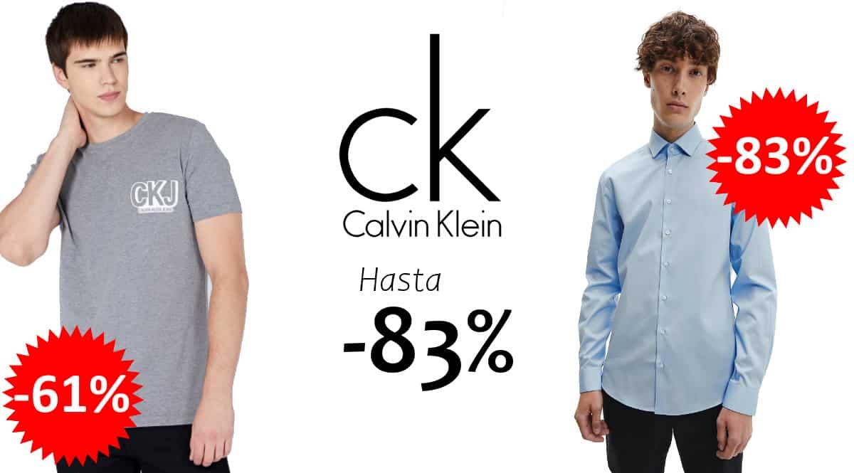Ropa Calvin Klein barata, ropa de marca barata, ofertas en moda, chollo