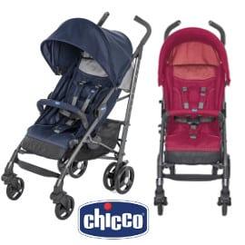 ¡Precio mínimo histórico! Silla de paseo para bebé Chicco Liteway 3 sólo 95.99 euros. Te ahorras 53 euros. En azul y en rojo.
