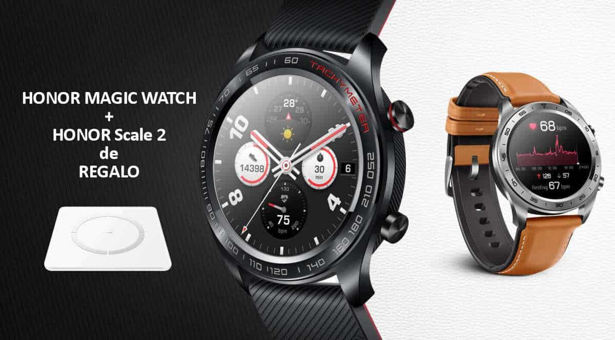Smartwatch Honor Magic Watch con báscula de regalo barato, ofertas en smartwatches, smartwatches baratos, chollo