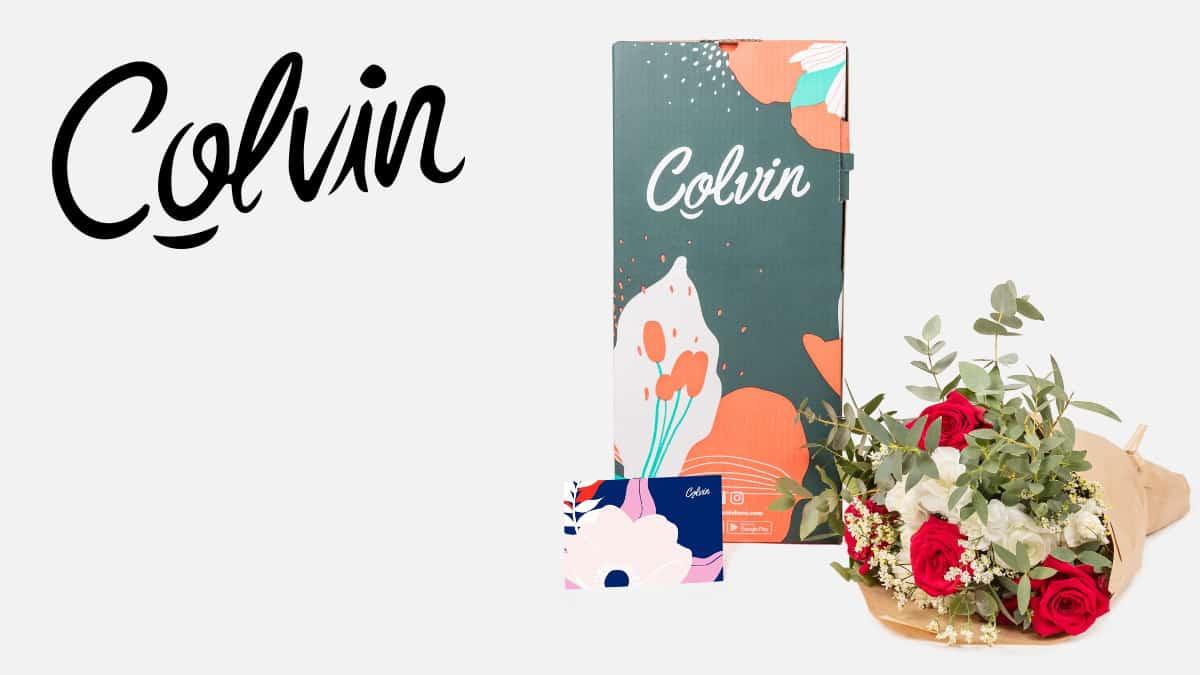 Súper Cashback en Colvin, ramos de flores baratos, ofertas para regalar por San Valentín, chollo
