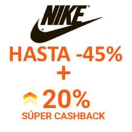 Súper Cashback Nike en iGraal, ropa de marca barata, ofertas en calzado