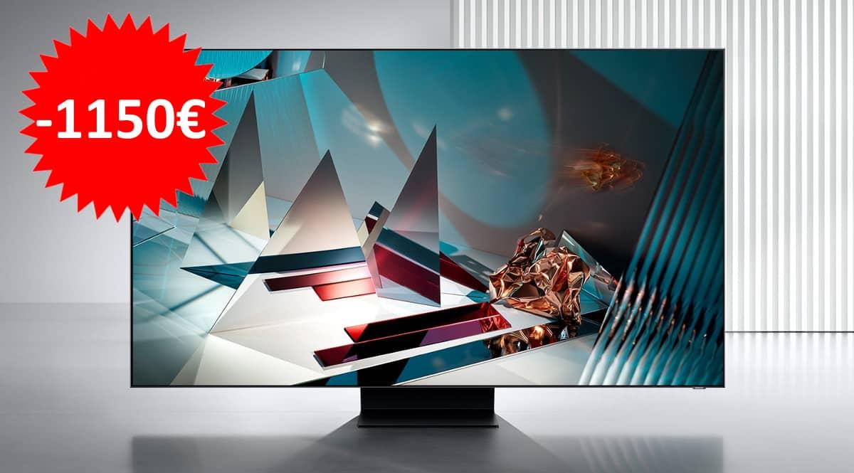 Televisor Samsung Q800T QE65Q800TATXXC.