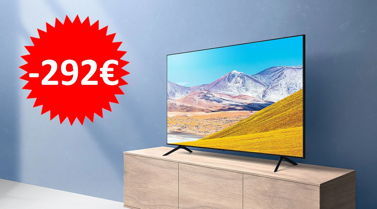 Televisor Samsung UE75TU8005 barato. Ofertas en televisores, televisores baratos, chollo