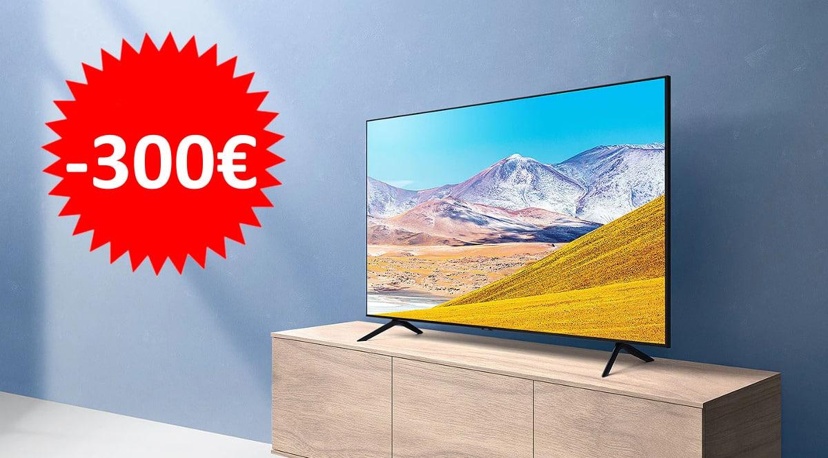 Televisor Samsung UE75TU8005 barato. Ofertas en televisores,televisores baratos, chollo