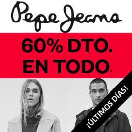 Últimos días rebajas Pepe Jeans, ropa de marca barata, ofertas el calzado