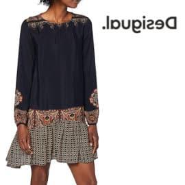 Vestido Desigual praga barato, vestidos de marca baratos, ofertas en ropa
