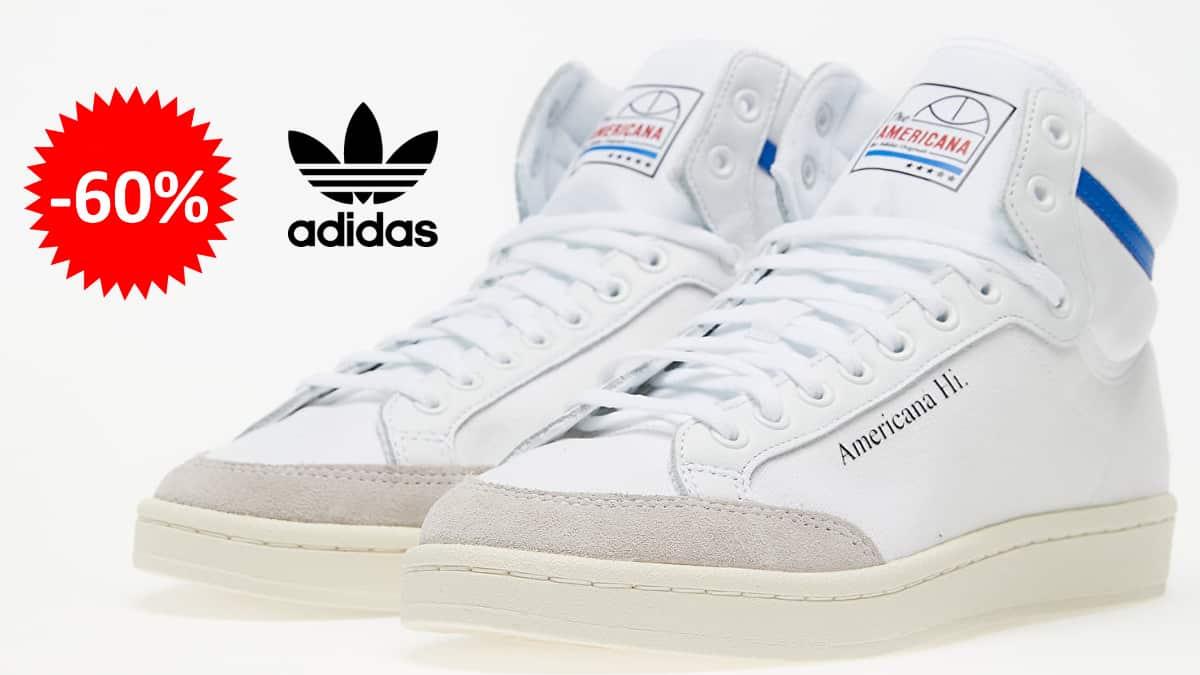 Zapatillas Adidas Americana Hi baratas, calzado de marca barato, ofertas en zapatillas chollo