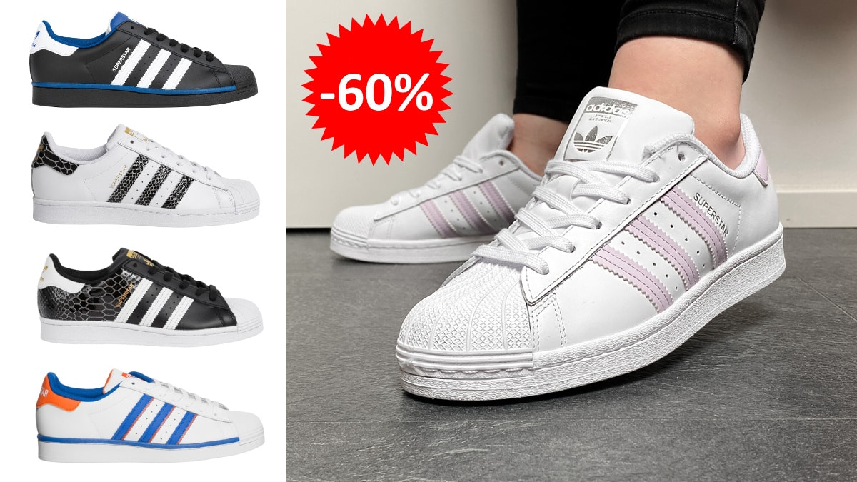 Zapatillas Adidas Originals Superstar Deporte Outlet baratas, calzado de marca barato, ofertas en zapatillas chollo