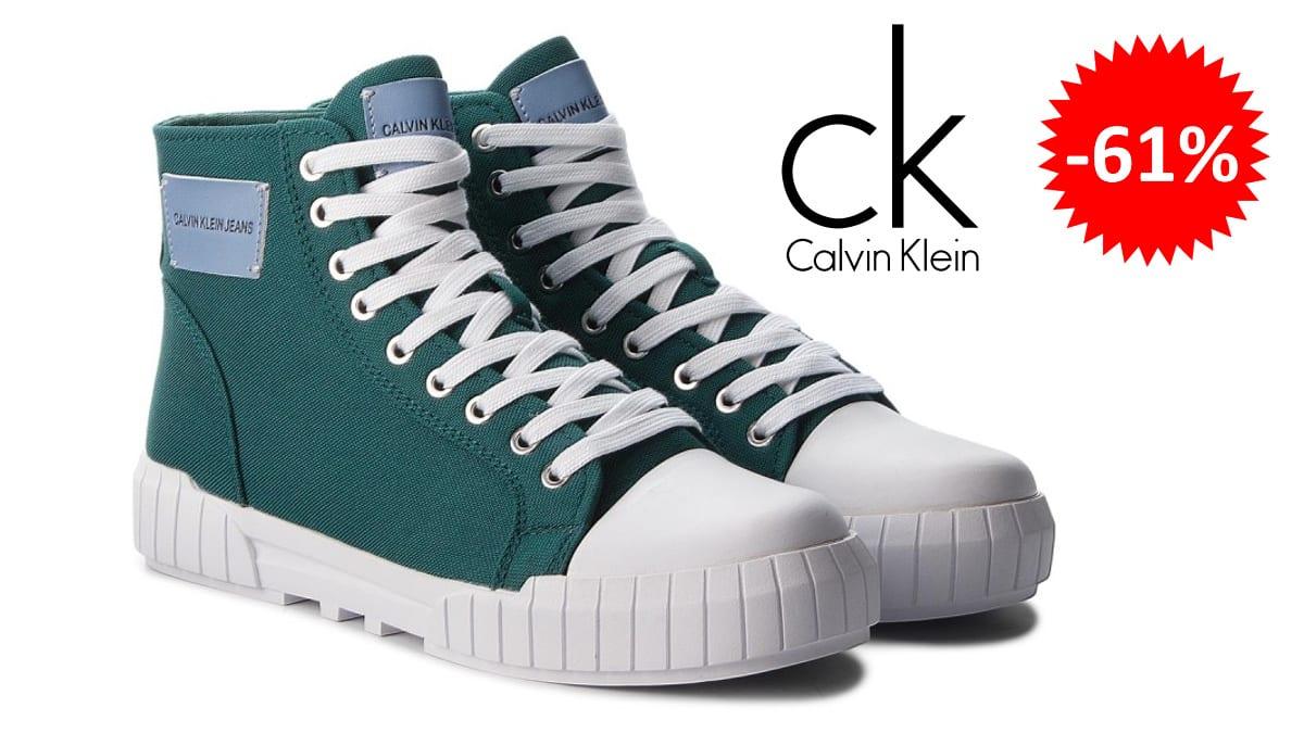Zapatillas Calvin Klein Jeans Biagio baratas, calzado de marca barato, ofertas en zapatillas chollo