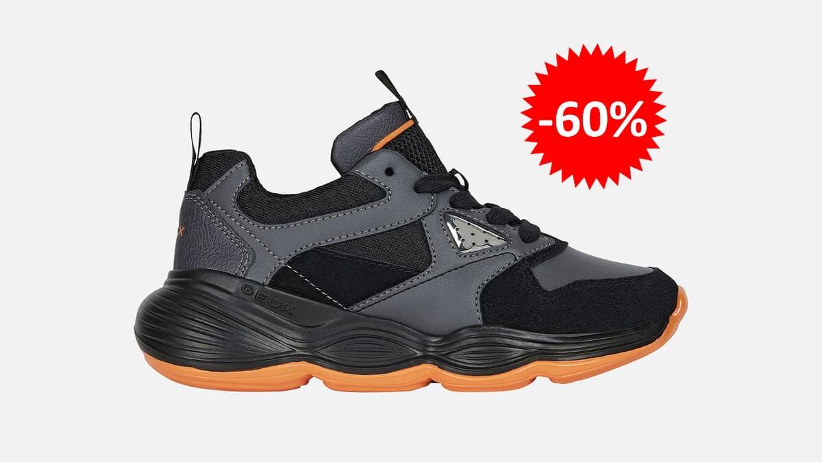 Zapatillas Geox Bubblex para niño baratas, calzado de marca barato, ofertas para niños chollo