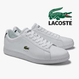 Zapatillas Lacoste Carnaby Evo para mujer baratas, calzado de marca barato, ofertas en zapatillas