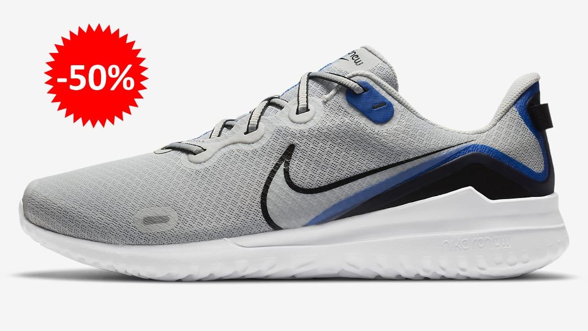 Zapatillas Nike Renew Ride baratas, calzado de marca barato, ofertas en zapatillas chollo