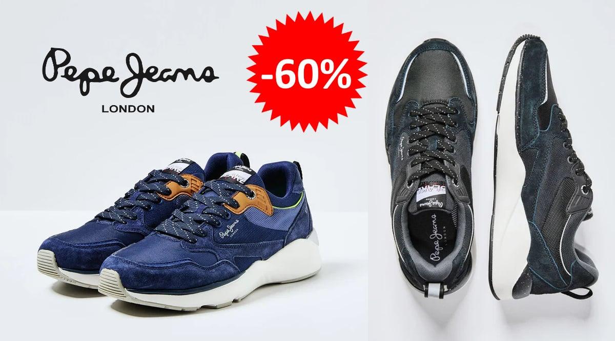 Zapatillas Pepe Jeans Blake baratas, calzado de marca barato, ofertas en zapatillas chollo