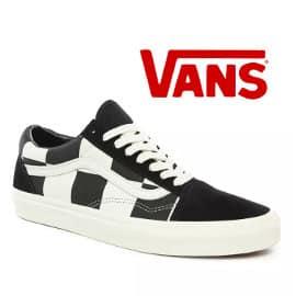 Zapatillas Vans Checkerboard Old Skool baratas, calzado de marca barato, ofertas en zapatillas