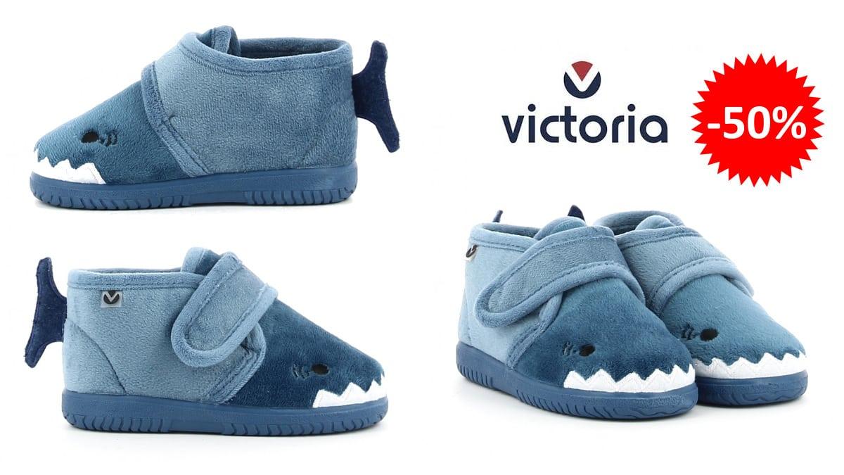 Zapatillas de estar por casa Victoria Ojalá Animales baratas, calzado de marca barato, ofertas para niños chollo