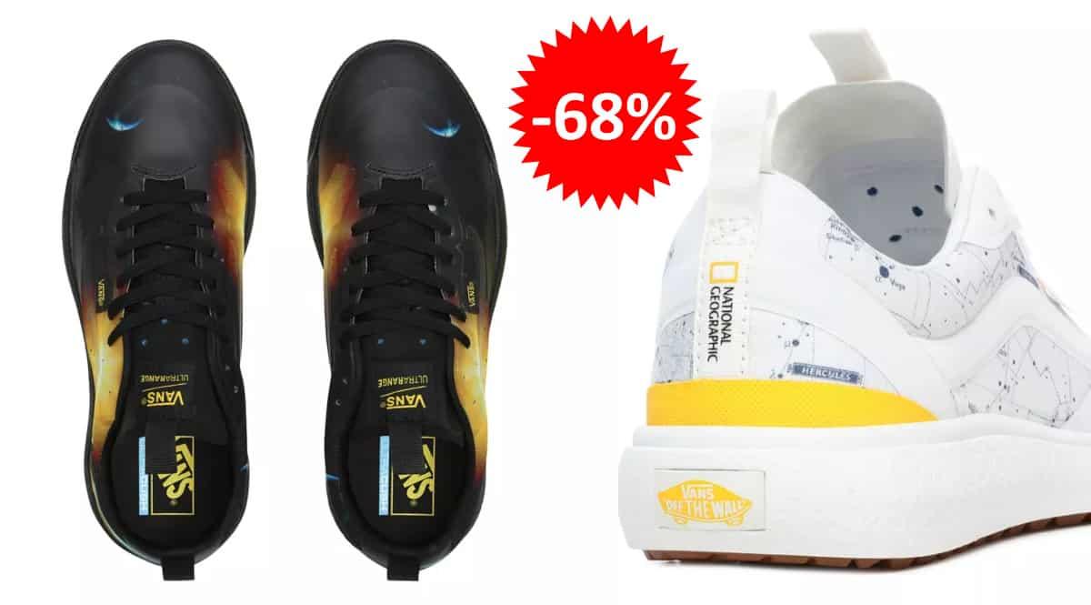 Zapatillas unisex Ultrarange Exo Vans x National Geographic baratas, calzado de marca barato, ofertas en zapatillas chollo