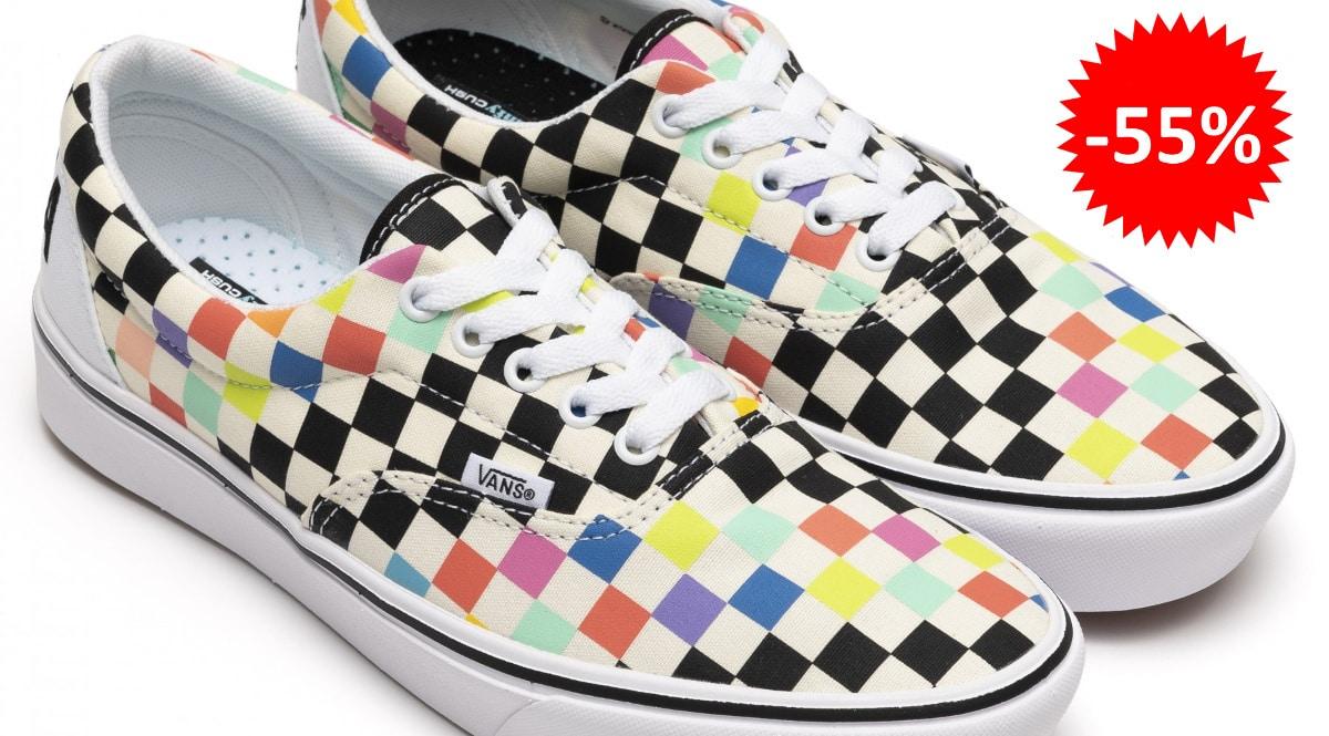 Zapatillas unisex Vans x Comfycush Era Moma baratas, zapatillas de marca baratas, ofertas en calzado chollo