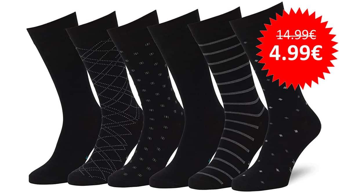 ¡Cupón descuento! 6 pares de calcetines unisex Easton Marlowe sólo 4.99 euros. 67% de descuento.