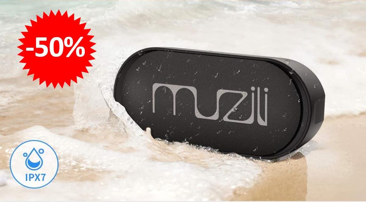 Altavoz inalámbrico Muzili barato, ofertas en altavoces inalámbricos, altavoz Bluetooth barato, chollo