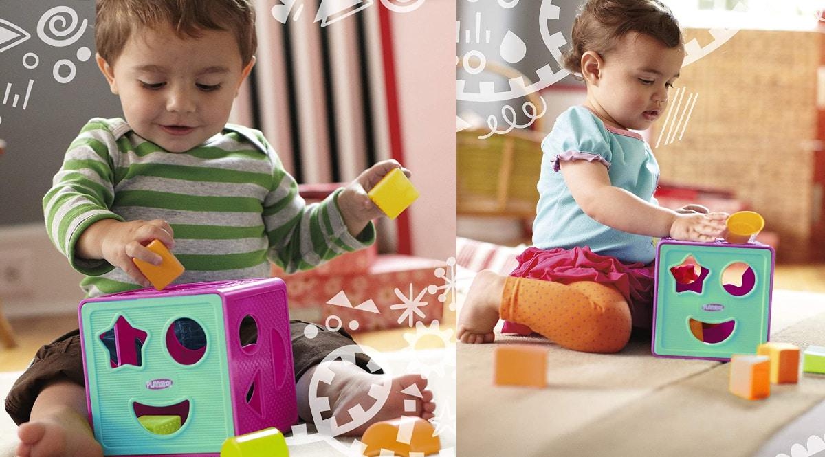 Aportador de forma Playsckool barato, juguetes de marca baratos, ofertas para niños, chollo