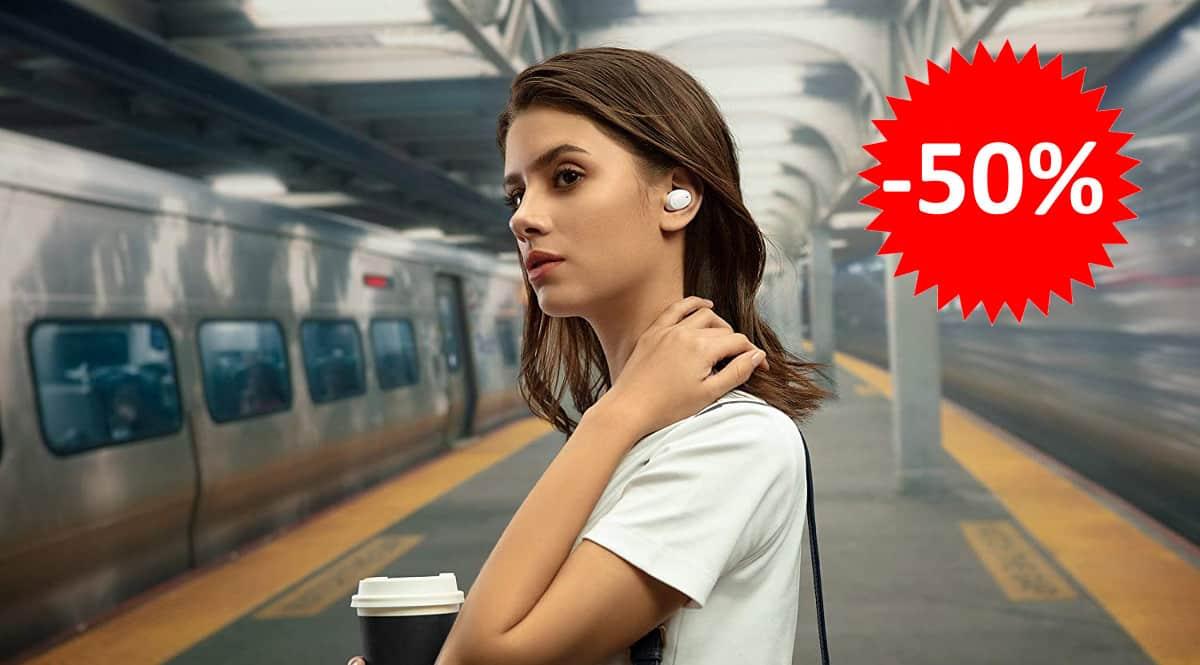 ¡¡Chollo!! Auriculares Bluetooth OPPO Enco W11 sólo 29.90 euros. 50% de descuento.