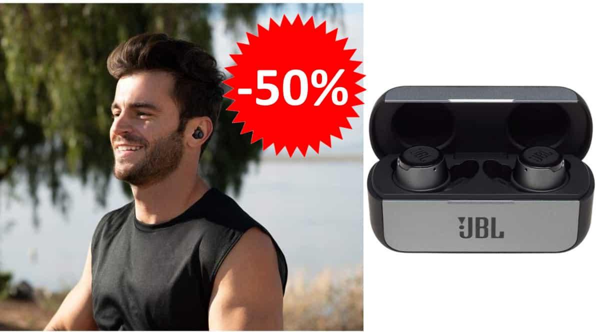 Auriculares JBL Reflect Flow baratos. Ofertas en auriculares, auriculares baratos, chollo