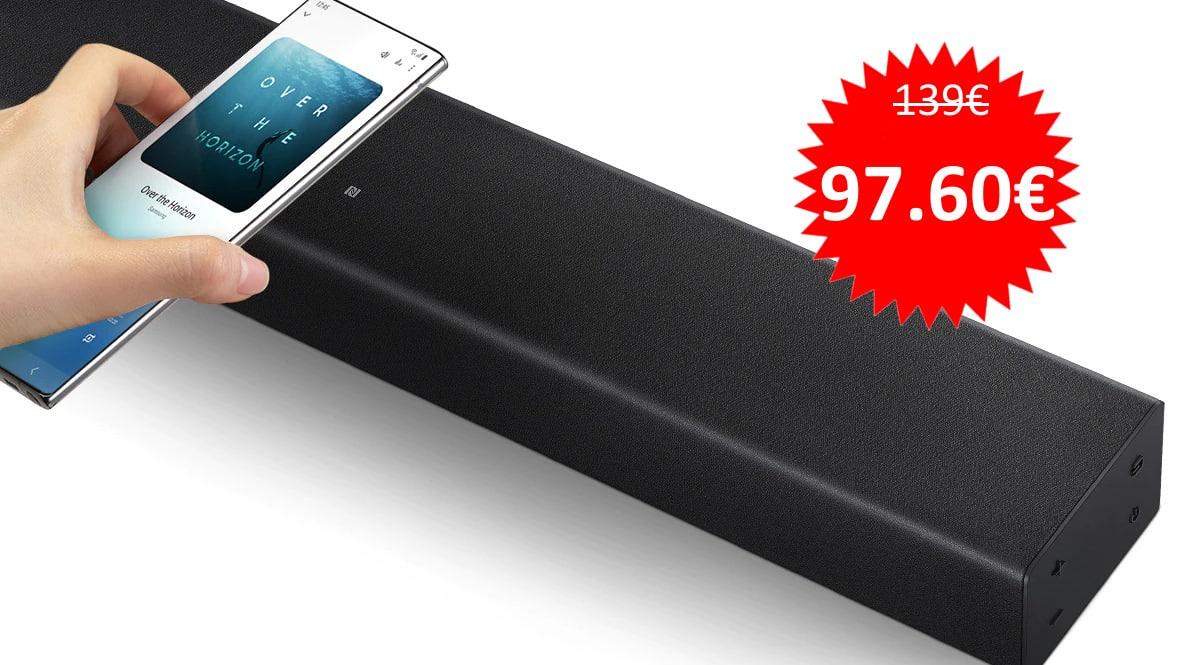 Barra de sonido Samsung HW-T400 barata.Ofertas en barras de sonido, barras de sonido baratas,chollo