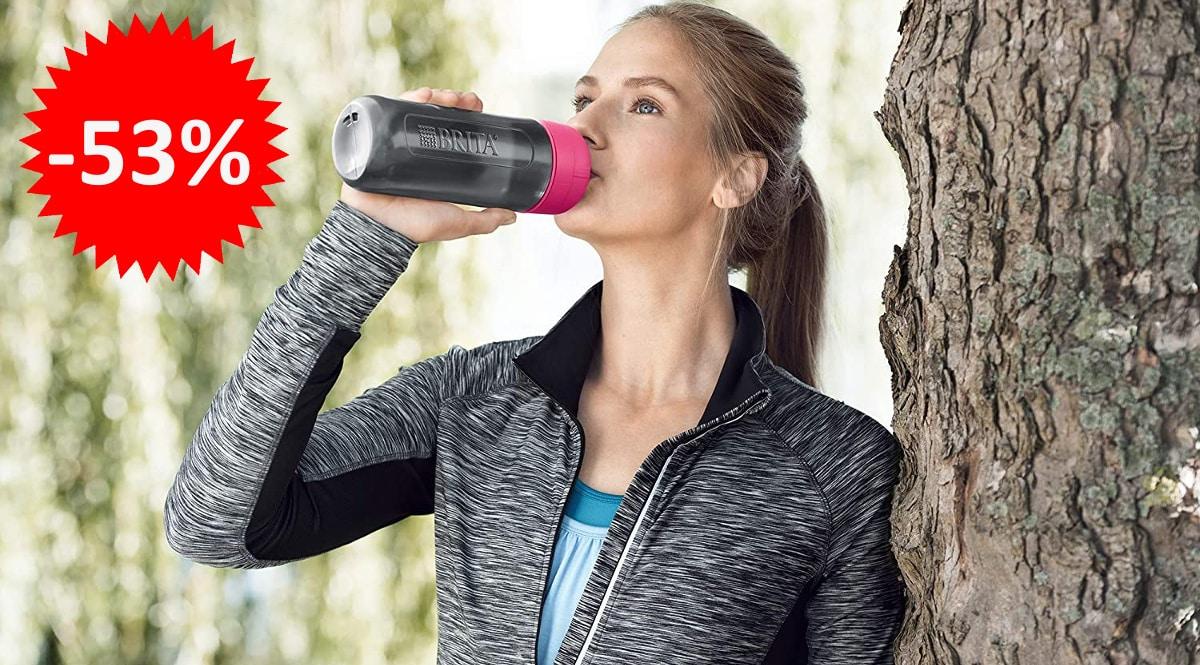 Botella filtrante Brita Active -botellas-de-agua-con-filtro-baratas-ofertas-deporte-chollo