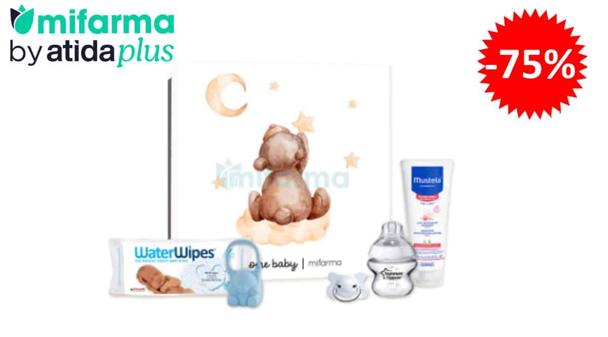 Caja Mifarma Welcome Baby barata, regalos para bebés baratos, ofertas en productos para bebés, chollo