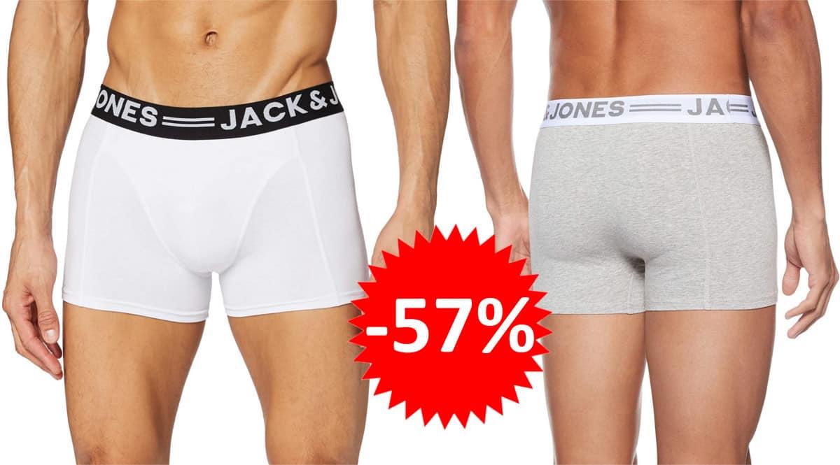 Calzoncillo tipo bóxer Jack & Jones Sense barato. Ofertas en ropa de marca, ropa de marca barata, chollo