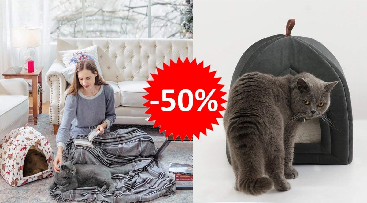 Cama para gatos Bedsure barata. Ofertas en productos para mascotas, productos para mascotas baratos,chollo