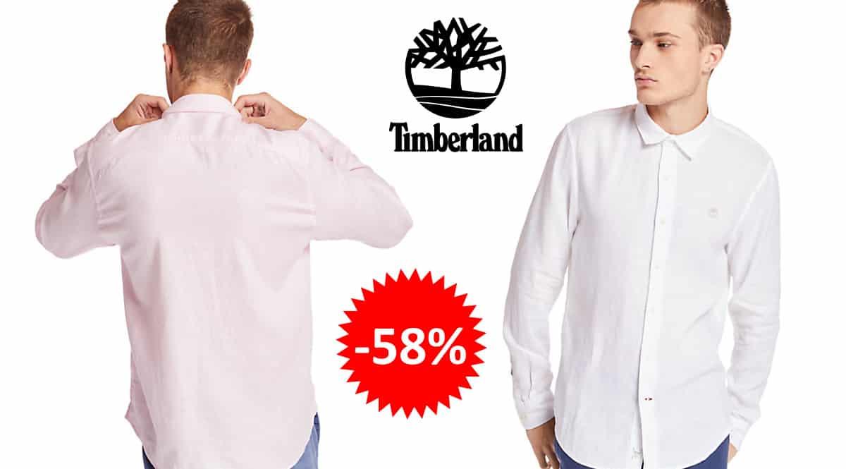 ¡¡Chollo!! Camisa Timberland Mill River sólo 37.94 euros. 58% de descuento. 7 colores.