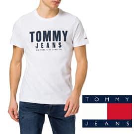 Camiseta Tommy Jeans Center Chest barata, camisetas de marca baratas, ofertas en ropa para hombre