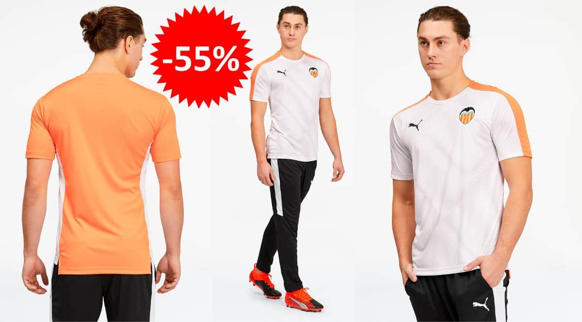 Camiseta Valencia Puma Stadium barata, ropa de marca barata, ofertas en camisetas chollo