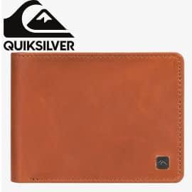 Cartera de cuero con monedero Quiksilver Mack X barata, carteras de marca baratas, ofertas monederos