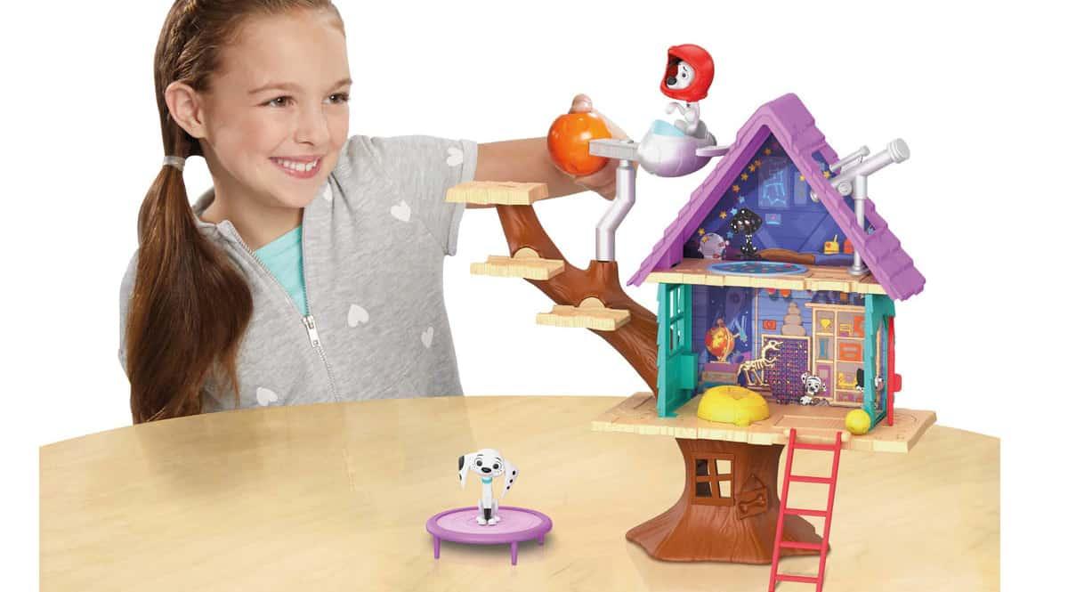 Casa del Árbol de Dylan 101 Dálmatas barata, juguetes baratos, ofertas para niños chollo
